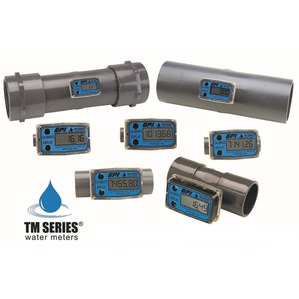 GPI TM Series PVC Water Meters