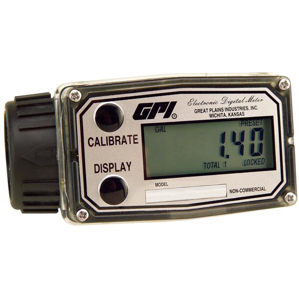 GPI A1 Nylon Turbine Meter