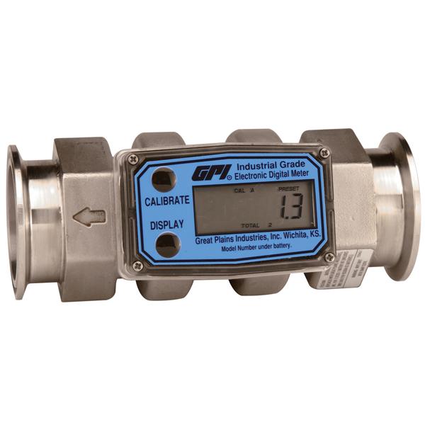 GPI G2 Series St St Tri Clover Meter