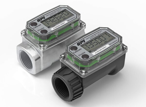 A1 Series Commercial Grade Water / Fuel Meters
