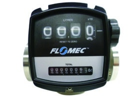 Flomec OM Meter with Mechanical Display