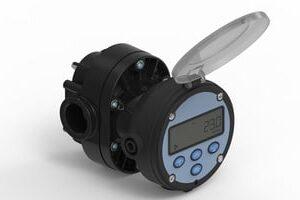 Flomec Oval Gear OM Series Digital Flow Meter
