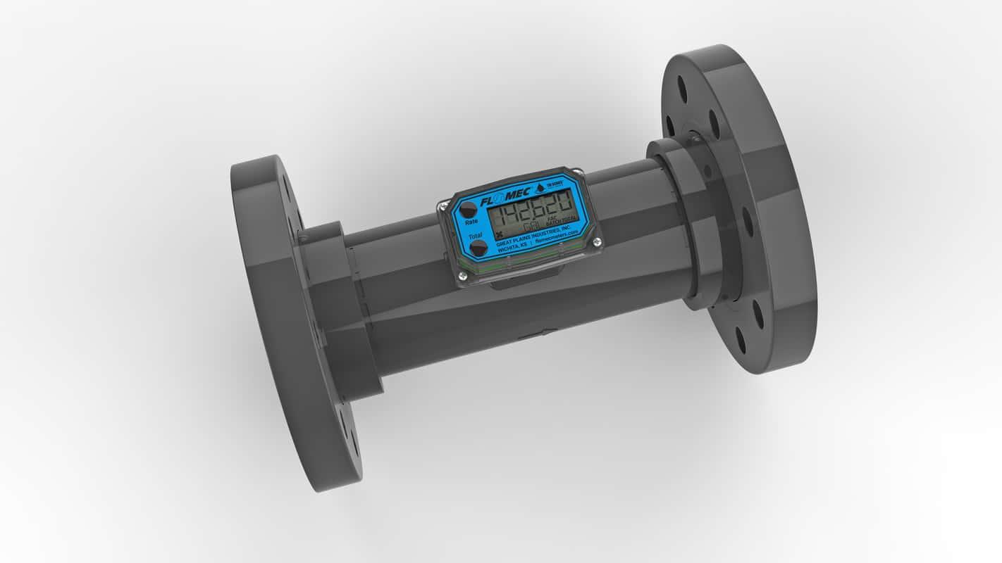 Flomec TM Series PVC Digital Flow Meter