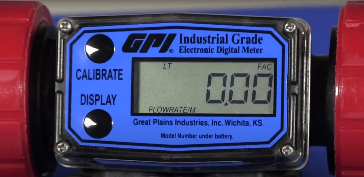 How To Calibrate A Flow Meter